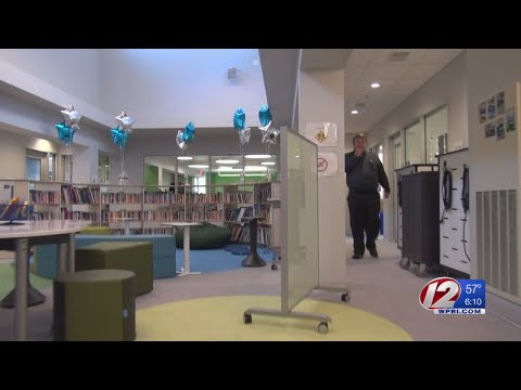 Cranston's Eden Park School showcases renovated school