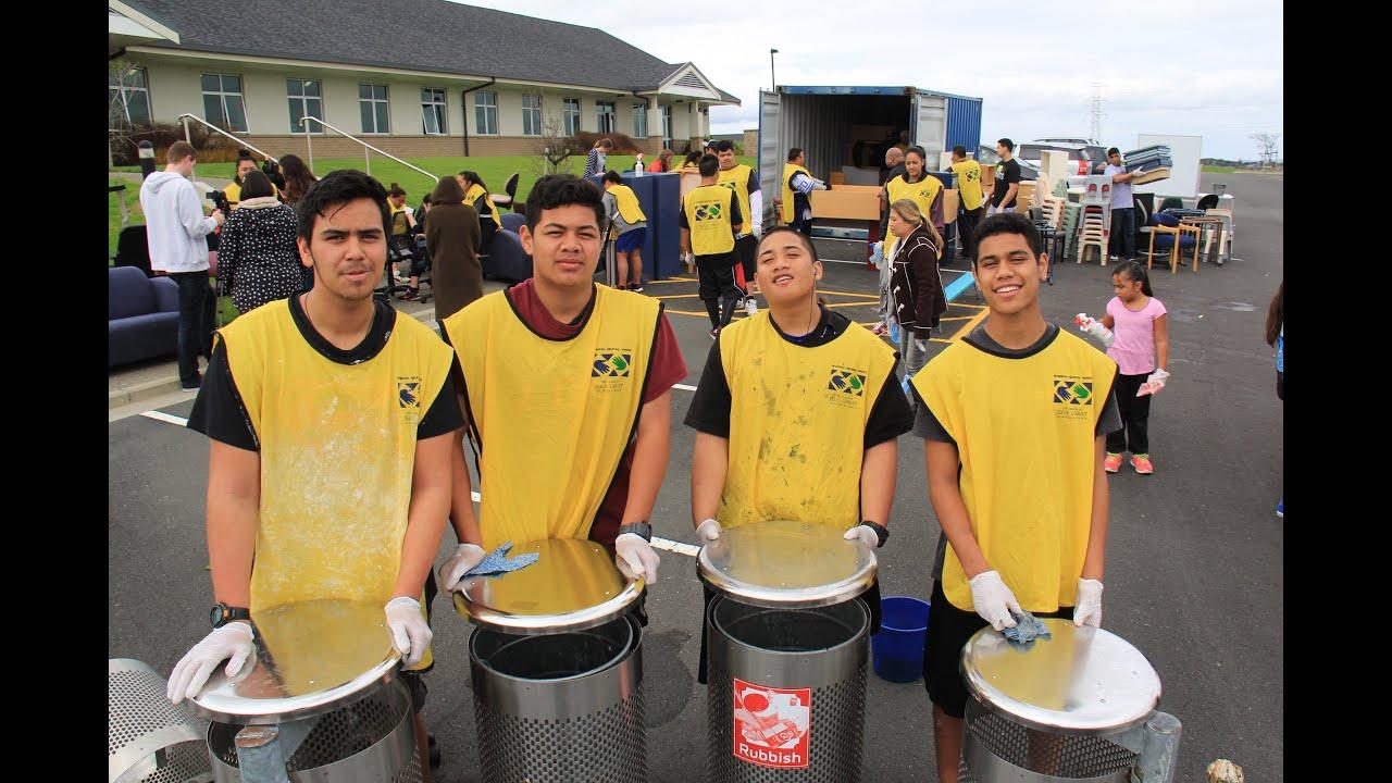 Auckland \'Mormon Helping Hands\' Volunteers Help School Communities ...