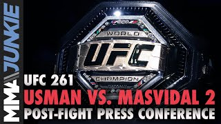 UFC 261 post-fight press conference