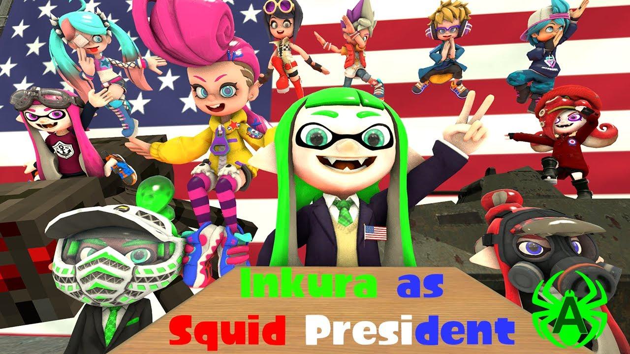 [Splatoon/Ninjala GMOD] Inkura's Inkventure - Squid President