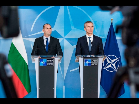 NATO Secretary General with the President of Bulgaria, 31 JAN 2017