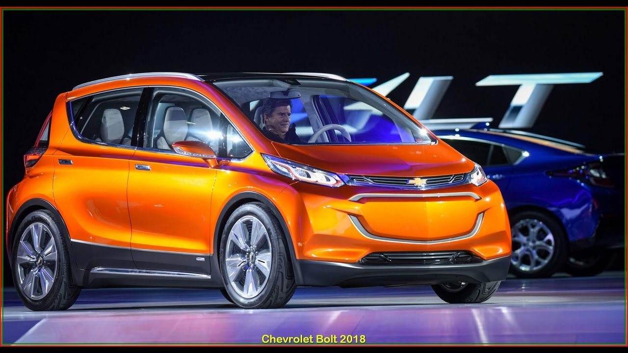 Chevrolet Bolt Review New 2018 Chevy Specs Price And Release Date