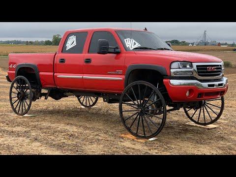 Duramax on Horse and Buggy Wheels Fails Miserably