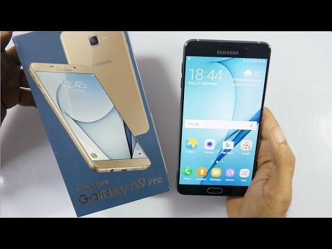 Samsung Galaxy A9 Pro Phablet Unboxing & Overview
