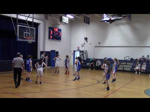 Gilford Middle School Girls vs Alton 1-15-19