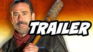 Walking Dead Season 7 Episode 1 Negan vs Rick Grimes Trailer Breakdown
