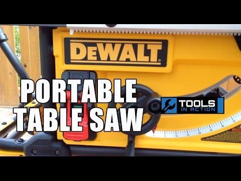 "DeWALT DWE7491RS 10"" Job Site Table Saw"
