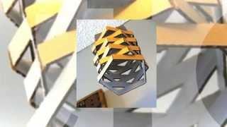 Подвесной светильник, как сделать своими руками(Подвесной светильник из коробки. Предлагаю сделать оригинальный светильник с минимальными затратами http://da..., 2014-06-30T15:12:41.000Z)