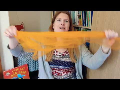 Here is the Beehive song/rhyme with scarf and opposites verse Laura's Story Corner