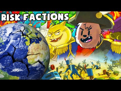 GENERAL BACCA TAKES OVER THE WORLD - RISK FACTIONS BOARD GAME