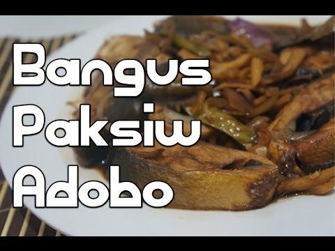 Paano magluto Bangus Paksiw Adobo Recipe - Pinoy Filipino Fish Tagalog