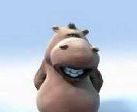 fatty fatty hippo singing a funny funny song