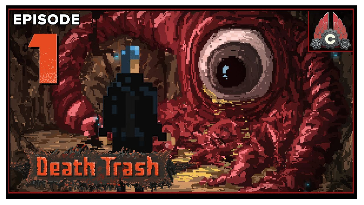 CohhCarnage Plays Death Trash Early Access - Episode 1