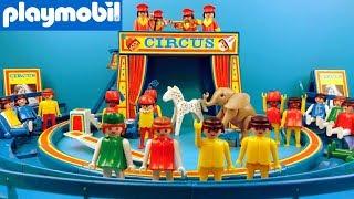 Playmobil Speelgoed Circus uitpakken | Unboxing Playmobil Circus Show