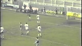 Palace V Burnley 1983 FA CUP 5th Round