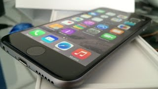 Unboxing iPhone 6 Space Grey