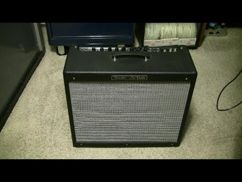 Fender DeVille Amplifier, Repair and Bias Set Procedure