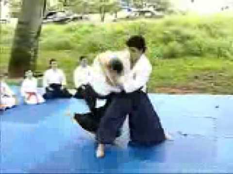 Aikido na TV TEM (Rede Globo) em Bauru