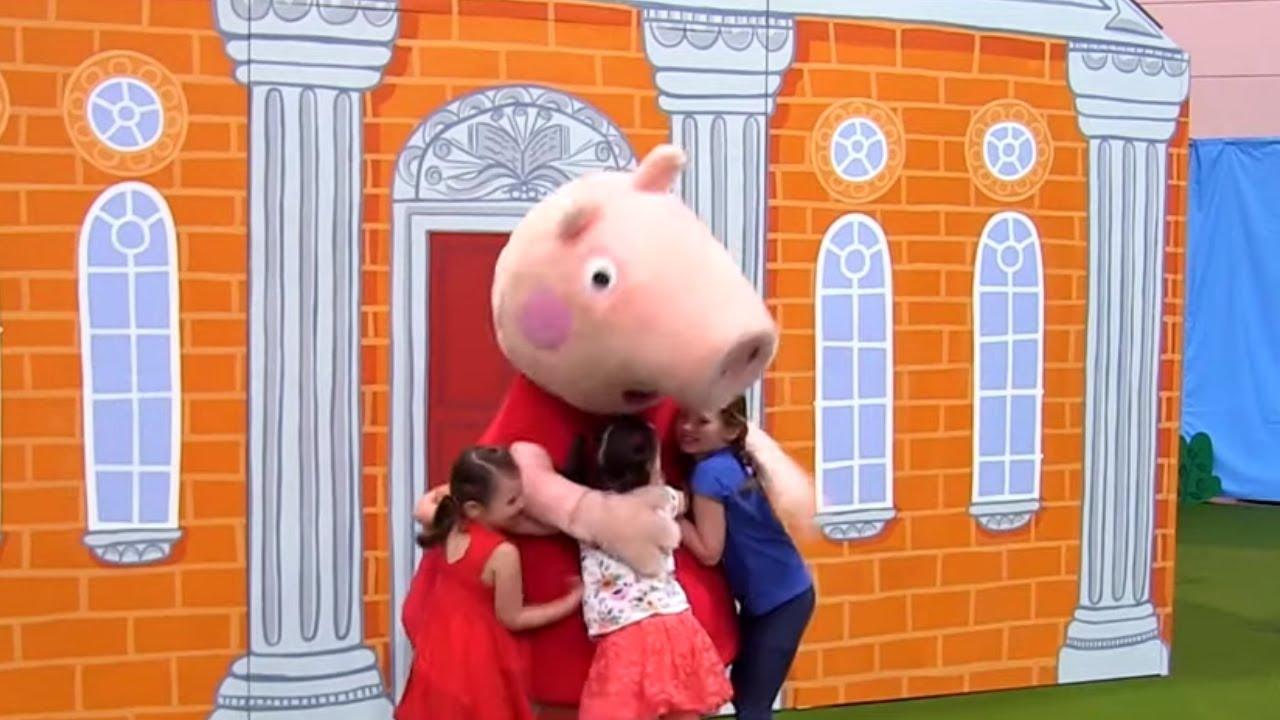 Peppa Pig Playdate Australia Super Sized Interactive Experience