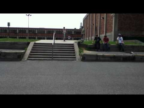 Double-whip 8-stair