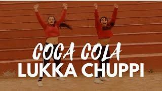 COCA COLA- Luka Chuppi   Dance Choreography   Unmasked  Prerna & Parul