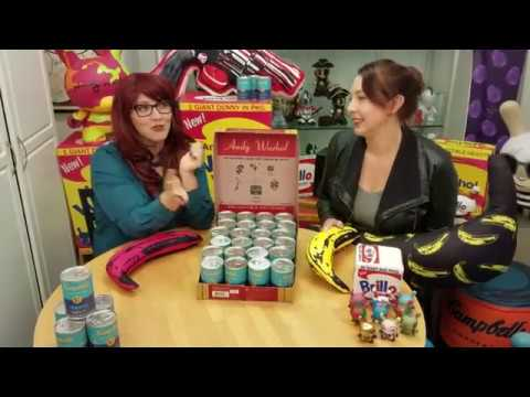 Kidrobot: An Awkward Unboxing 2 — Andy Warhol Soup Can Series