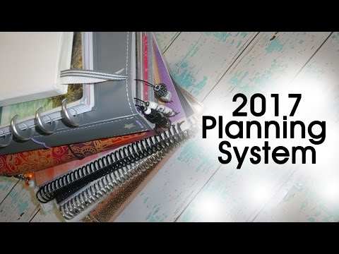 My Complete 2017 Planning System