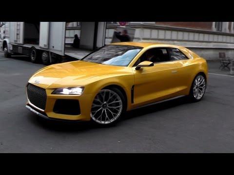 700HP Audi Sport Quattro Concept - Sound & Driving Scenes