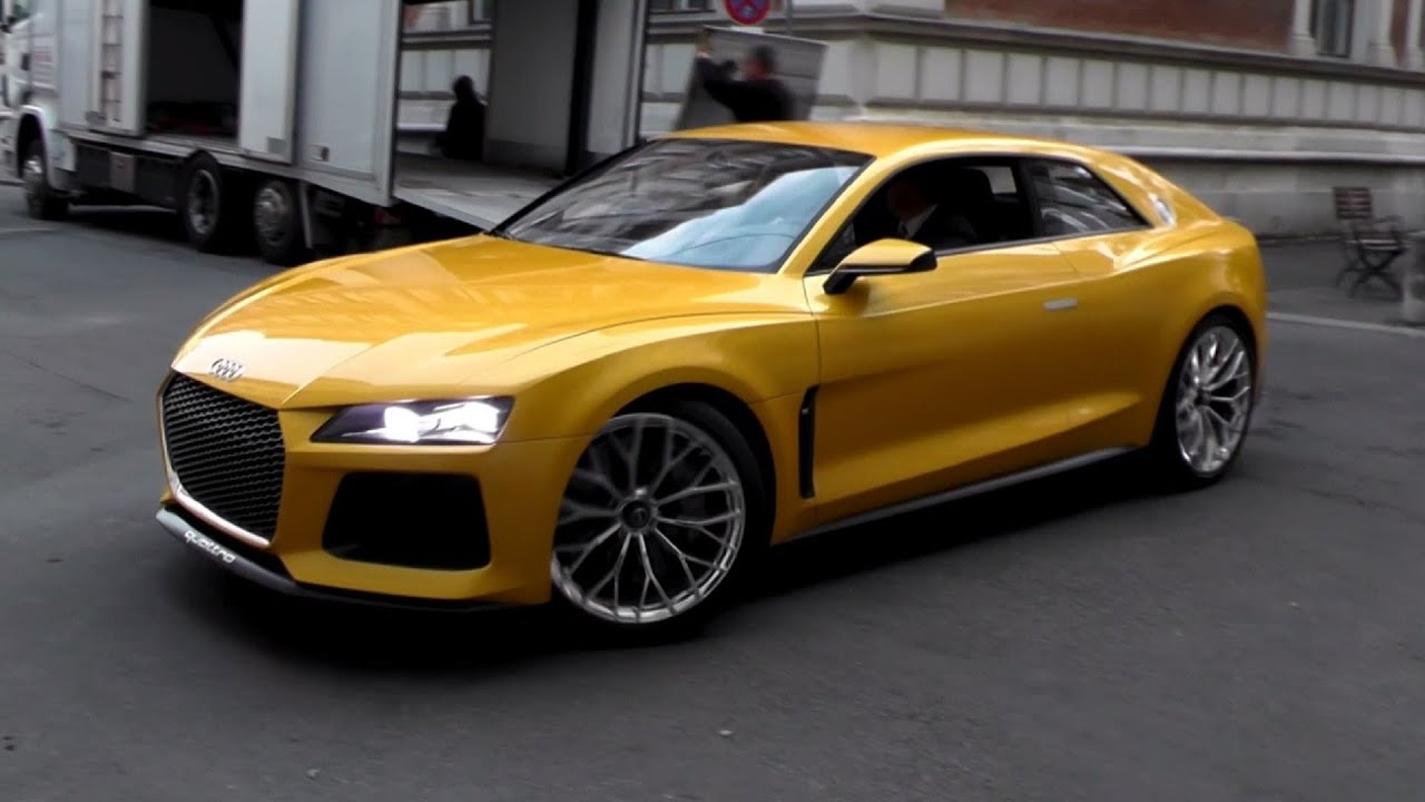 700hp audi sport quattro concept sound driving scenes youtube. Black Bedroom Furniture Sets. Home Design Ideas