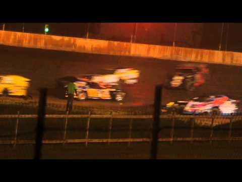 Part 2/3 7-3-2014 Rice Lake Speedway Modified Feature Jeff Spacek