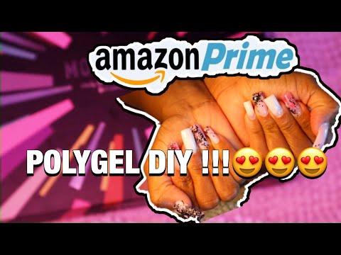 polygel nail kit from Amazon Prime- modelones- cyndoll polygel nails thumbnail