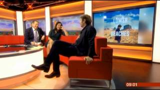 Justin Currie of Del Amitri on BBC Breakfast 11/9/13