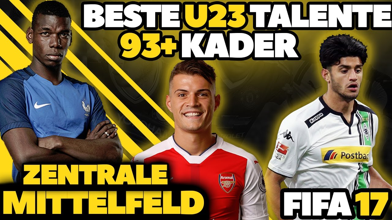 Fifa 17 Beste Zentrale Mittelfeld Talente Ohne Training U23 93