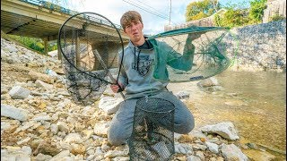 Creek Fish Trapping Battle! (Which Traps Catches the Most Fish?)