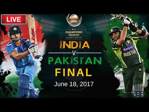 India vs Pakistan   ICC Champions Trophy 2017 (Final) Live Streaming   Live Score with Commentary