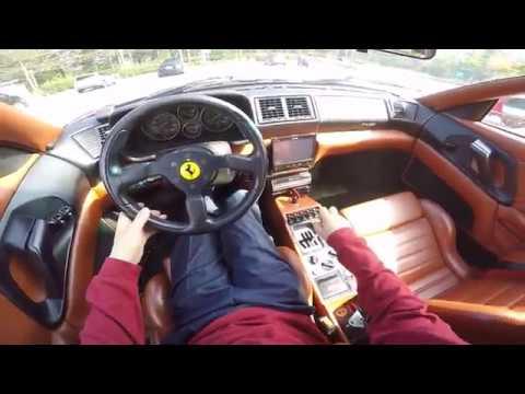 フェラーリF355に試乗する機会をいただきました。オーナーさんどうもありがとうございます。(^ω^) http://minkara.carview.co.jp/userid/687338/blog/39856986/