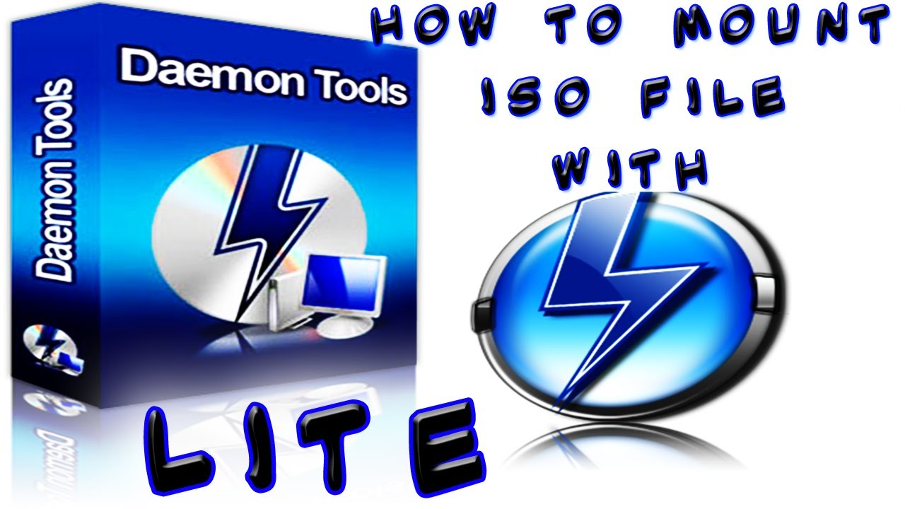 How to mount iso file with daemon tools lite download link youtube - Download daemon tools lite 4 ...