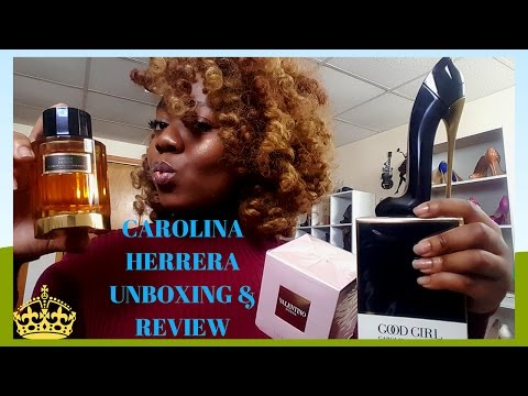 CAROLINA HERRERA GOOD GIRL FRAGRANCE UNBOXING & REVIEW!!