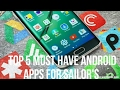 Top 5 Must Have Apps For Sailors- HD