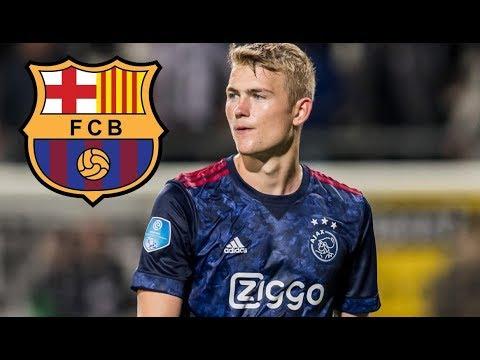 Matthijs De Ligt 2018 ● Welcome to FC Barcelona - Skills & Goals |HD|