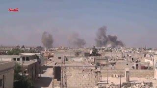 04 10 2015 Сирия  Съемка боевиков