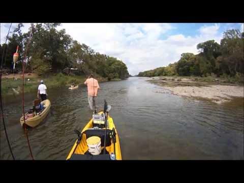 New Water : Brazos River Kayak Fishing