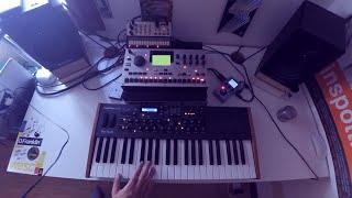 Mr. Robot Main Theme Cover (Live jam Dave smith Mophox4 + Elektron Machinedrum + Volca Keys)