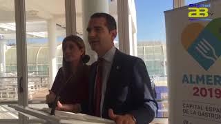 El alcalde anima a las empresas a que continúen colaborando  Almería 2019.