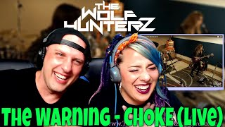 The Warning - CHOKE (live at The Warning Cave) THE WOLF HUNTERZ Reactions