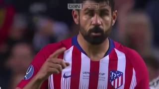 Real Madrid Vs Atletico Madrid 2-4 UEFA Super Cup Highlights