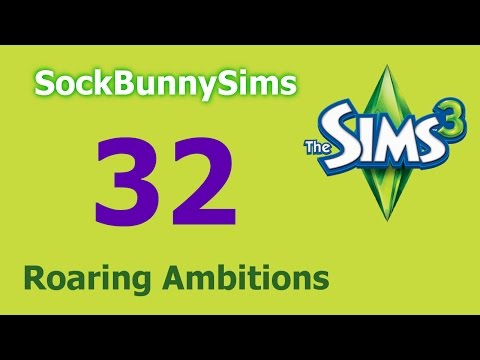 Sims 3 - Roaring Ambitions - Ep 32 - Butterflies