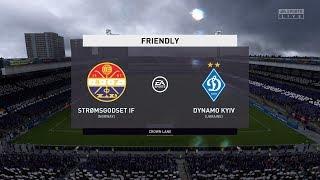 FIFA 20 | Stromsgodset IF vs Dynamo Kyiv - Club Friendly | 06/02/2020 | 1080p 60FPS