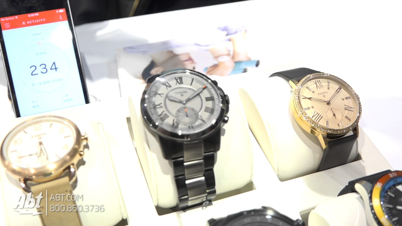 Ces Unveiled 2017 Fossil Group S Hybrid Smartwatches Youtube
