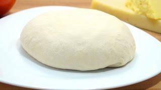 Как сделать тесто для пиццы – Рецепт с фото